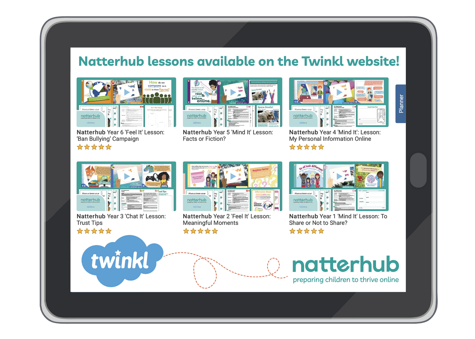 Twinkl & Natterhub Image